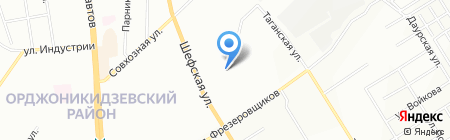 Детский сад №521 на карте Екатеринбурга