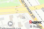 Схема проезда до компании АзияАвто в Екатеринбурге