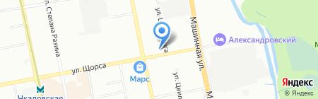 Семейные потолки на карте Екатеринбурга