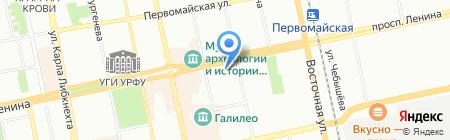 Умелец на карте Екатеринбурга