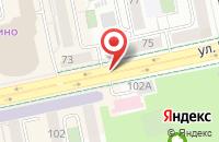 Схема проезда до компании Центр Оформления Недвижимости в Екатеринбурге