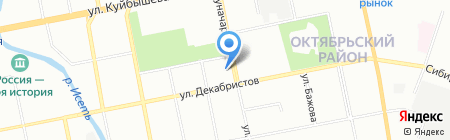 FreshTel на карте Екатеринбурга