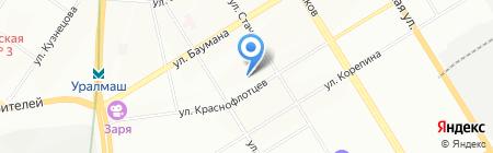 Алекс на карте Екатеринбурга