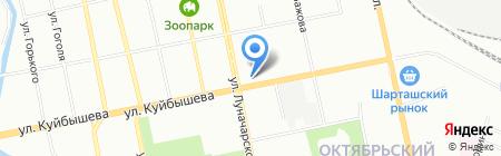 Семейная касса на карте Екатеринбурга