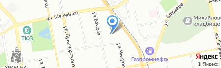 Росэнергоплан на карте Екатеринбурга