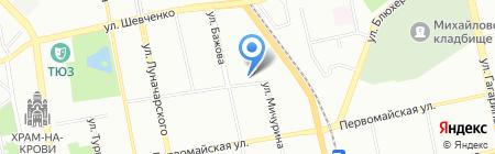 WeddingStars на карте Екатеринбурга