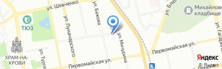 СТАРТЕР-ОПТ на карте Екатеринбурга