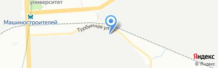 Фирма Растер на карте Екатеринбурга