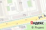Схема проезда до компании Магеллан в Екатеринбурге