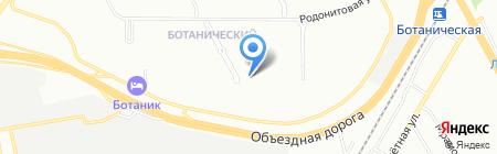 Доктор Айболит на карте Екатеринбурга