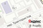 Схема проезда до компании Аврора-Урал в Екатеринбурге