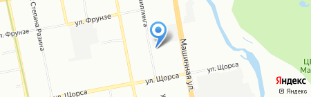 Детский сад №49 на карте Екатеринбурга