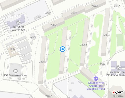 Жилищно-строительный кооператив «ЖК № 188» на карте Екатеринбурга