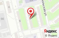 Схема проезда до компании Ск-Приоритет в Екатеринбурге