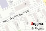 Схема проезда до компании Эпиона в Екатеринбурге