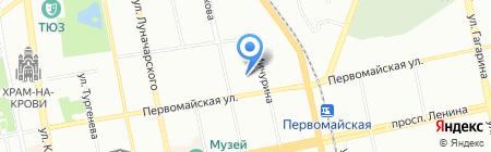 Гео Тур на карте Екатеринбурга