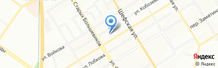 Гарант на карте Екатеринбурга