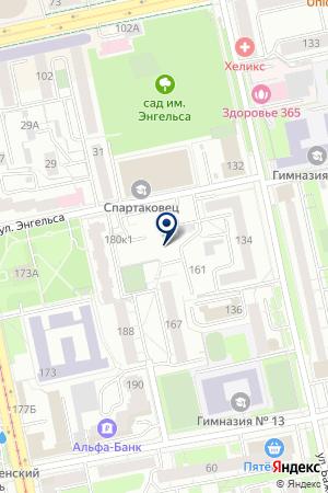 GOLD на карте Екатеринбурга