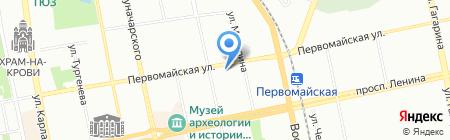 Уральские комплексные технологии-99 на карте Екатеринбурга