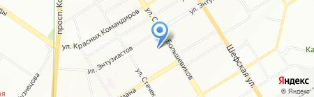 Теплоблок на карте Екатеринбурга
