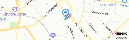 Специальная (коррекционная) общеобразовательная школа №123 на карте Екатеринбурга
