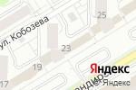 Схема проезда до компании Элин-Техно в Екатеринбурге
