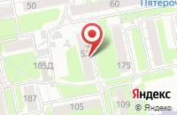 Схема проезда до компании Solo в Екатеринбурге
