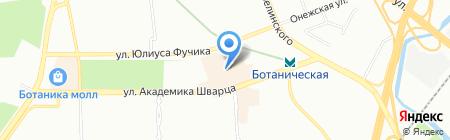 Травы Кавказа на карте Екатеринбурга