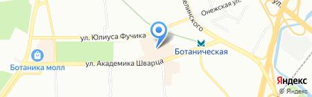 MWT на карте Екатеринбурга