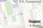 Схема проезда до компании Red room в Екатеринбурге