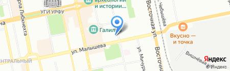 ГЛОБУС СПОРТ на карте Екатеринбурга