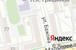 Схема проезда до компании Кыштымский трикотаж в Екатеринбурге