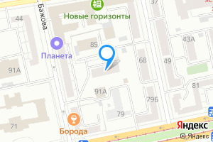 Трехкомнатная квартира в Екатеринбурге м. Динамо, улица Бажова, 87