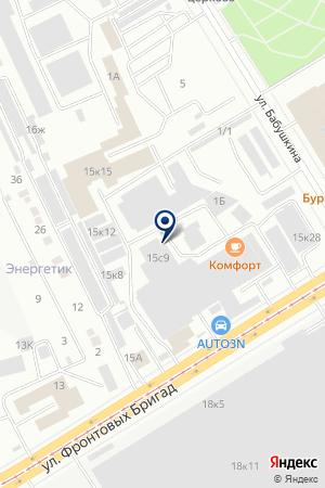 Ника на карте Екатеринбурга