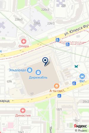 Очки длявас на карте Екатеринбурга