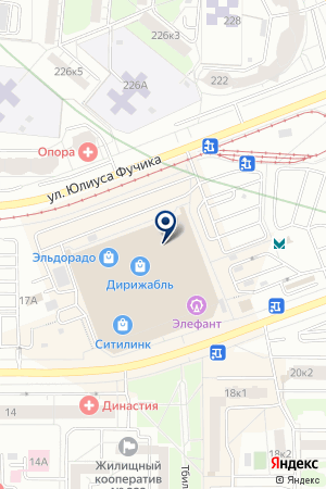 Детский центр Элефант на карте Екатеринбурга