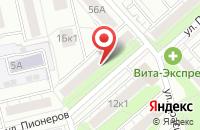 Схема проезда до компании Уралснабсервис в Екатеринбурге