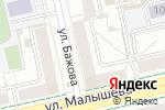 Схема проезда до компании Modus массаж в Екатеринбурге