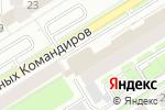 Схема проезда до компании Палитра в Екатеринбурге