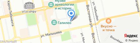 Моя Сонечка на карте Екатеринбурга