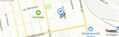 ТехЦентр Полюс на карте Екатеринбурга
