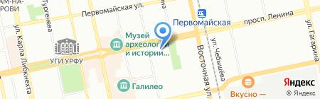 Бензооборудование на карте Екатеринбурга