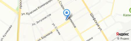 Почтовое отделение №17 на карте Екатеринбурга