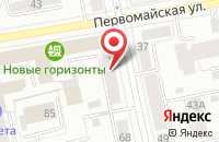 Схема проезда до компании Юрист Консалт в Белгороде