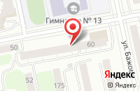 Схема проезда до компании Серджио Багетто в Екатеринбурге