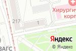 Схема проезда до компании ВТС Груп в Екатеринбурге