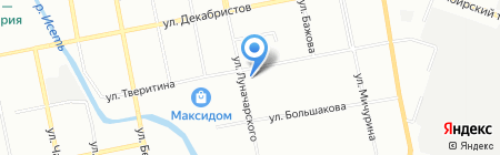 Горизонт-М на карте Екатеринбурга