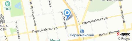 Банкомат Газпромбанк АО на карте Екатеринбурга