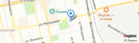 Домашняя еда на карте Екатеринбурга