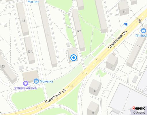 Товарищество собственников жилья «ТСЖ Плаа» на карте Екатеринбурга